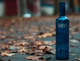 die einsame Flasche